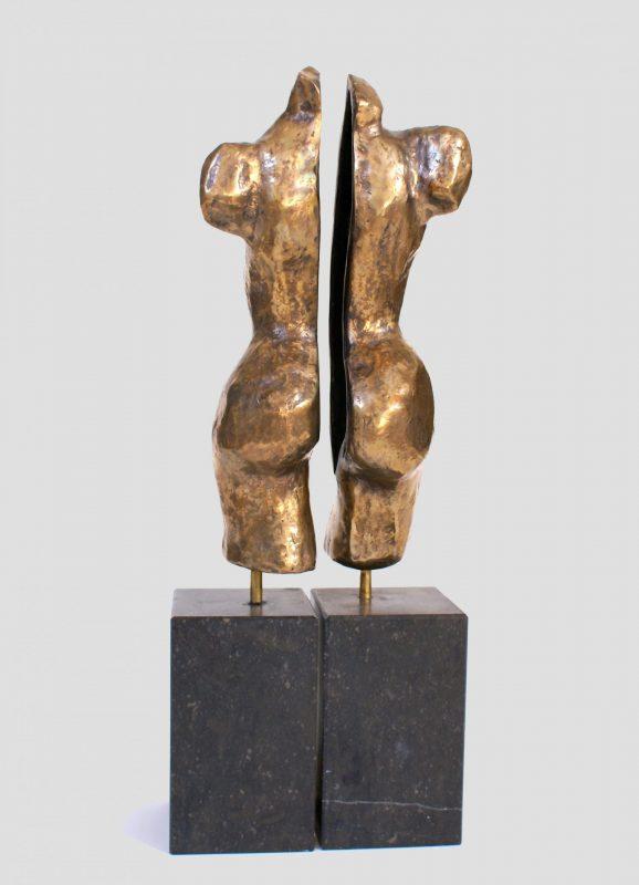 bronzen torso Hannah-Gold